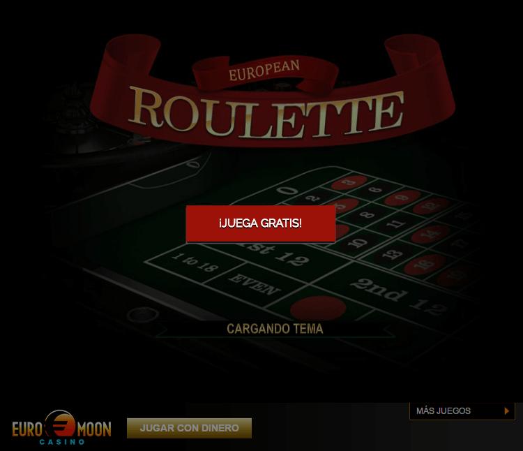 Ruleta europea jugar gratis