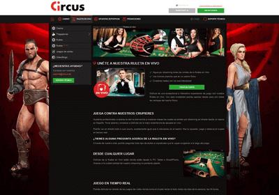 circus ruleta en vivo