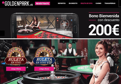 goldenpark ruleta en vivo