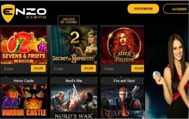 100 euros en giros gratis Enzo Casino