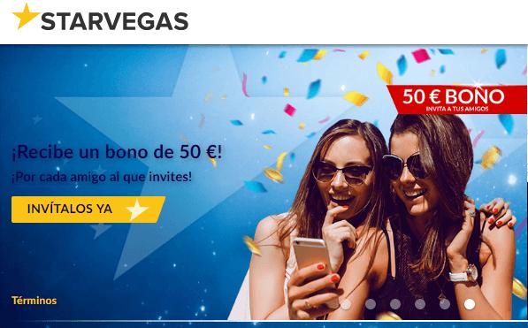 200 euros por primer depósito Casino Starvegas