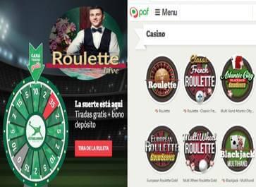 Casino Paf tiene un bono de retorno de 20 euros y 35 tiradas gratis